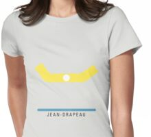 Station Jean-Drapeau Womens Fitted T-Shirt
