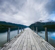 Lake Rotoiti, New Zealand by Jack Howitt