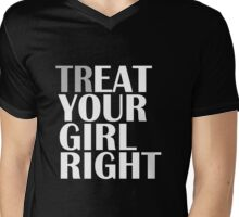 TR/EAT YOUR GIRL RIGHT Mens V-Neck T-Shirt