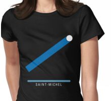 Station Saint-Michel Womens Fitted T-Shirt