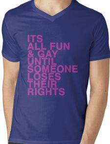 Gay rights Mens V-Neck T-Shirt