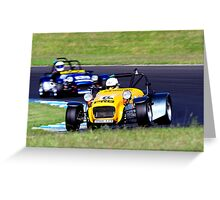 Chris Barry | Shannons Nationals R1 | 2013 Greeting Card