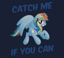 Catch Me if you Can Shirt (Rainbow Dash) by broniesunite