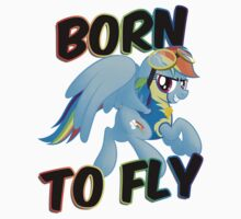 Born to Fly Shirt (Version 2) by broniesunite