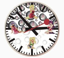 Sexy Girls Clock3 by Miraart