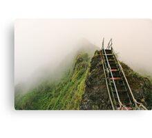 Haiku Stairs Canvas Print