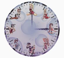 Sexy Girls Clock4 by Miraart