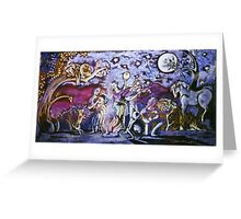 Gypsy wedding Greeting Card