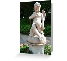 Angelic Statue Greeting Card
