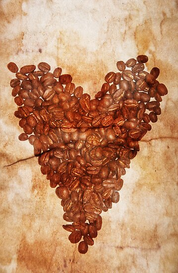 Coffee Heart by Denise Abé