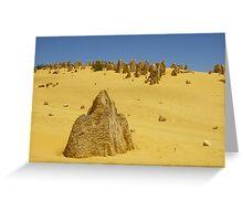 The Pinnacles - Nambung National Park WA Greeting Card