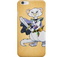 Dark Ferret Warrior iPhone Case/Skin