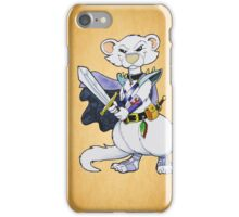 Dark Ferret Warrior iPhone Case/Skin