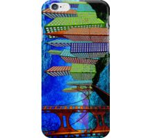 Horizontal Moon iPhone Case/Skin