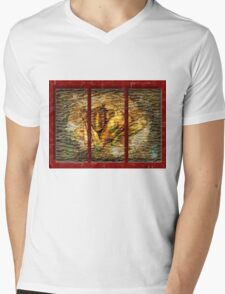 Rusty Mens V-Neck T-Shirt