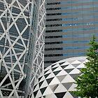 Office Buildings in Tokyo by jojobob