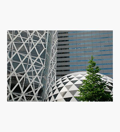 Office Buildings in Tokyo Photographic Print