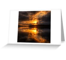 Smoulder - Narrabeen Lakes Sydney Australia  - The HDR Experience Greeting Card