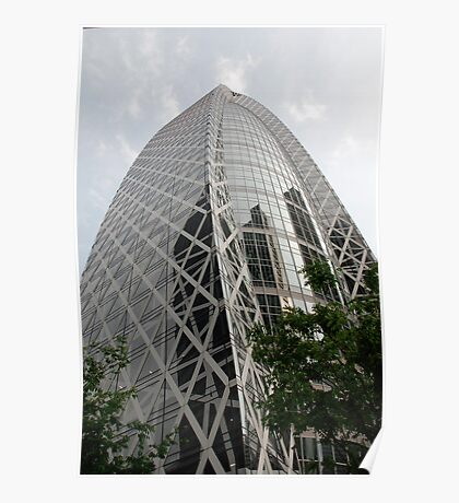 Tokyo Office Building Poster