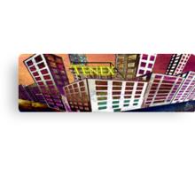 Tenex Building Canvas Print