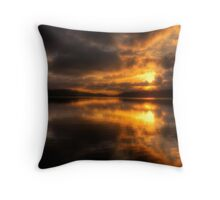 Burn For You - Narrabeen Lakes, Sydney Australia - The HDR Experience Throw Pillow
