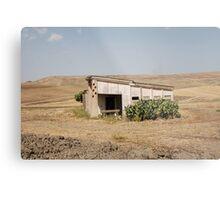 Derelict Agricultural Building Metal Print