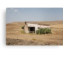 Derelict Agricultural Building Canvas Print
