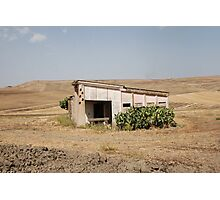 Derelict Agricultural Building Photographic Print