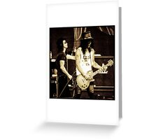 Slash & Myles Kennedy Greeting Card