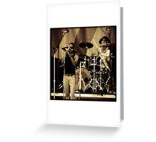 Trombone Shorty Greeting Card