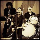 Bruce Springsteen & The E Street Band by Mick Yates