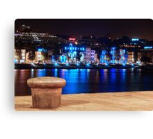 Oporto at Night Canvas Print