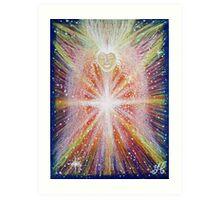 Activation Angel - Reiki charged Art Print