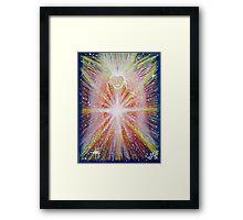Activation Angel - Reiki charged Framed Print