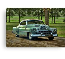 "1951 Cadillac ""Grandpa's Caddy"" Canvas Print"