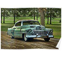 "1951 Cadillac ""Grandpa's Caddy"" Poster"