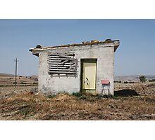 Derelict Farm Building Photographic Print