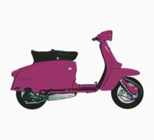 Pink Lambretta Scooter by Scooterist