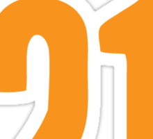 Multi 21 Sticker
