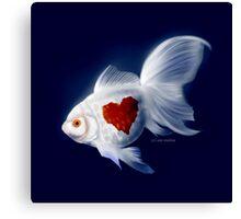 Fishy Knows It Best Canvas Print