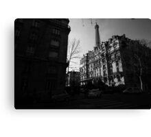 Paris Highlights and Shadows Canvas Print