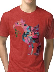 Flamingo Before Weekend Tri-blend T-Shirt