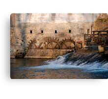 Mill, Slovenia Canvas Print