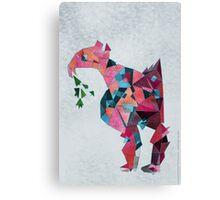Flamingo Before Weekend Canvas Print