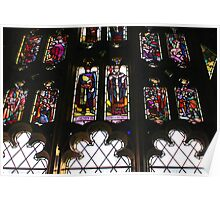 Worcester Stained Glass Poster