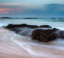 Mystery Bay Sunset by Troy Barrett