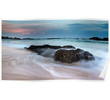 Mystery Bay Sunset Poster
