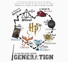 We are the Harry Potter Generation Kids Clothes