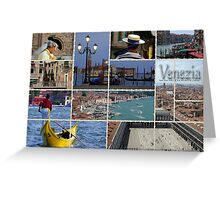 Venice Italy Greeting Card