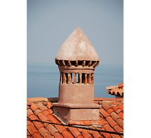 Chimney in Piran Photographic Print